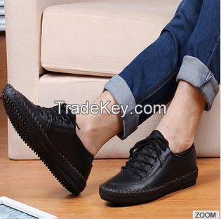 2015 hot sell all seasons leather mens shoes