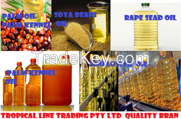 ORGANIC SUNFLOWER , RAPE SEED , KENNEL , CORN OIL  AND PALM OIL
