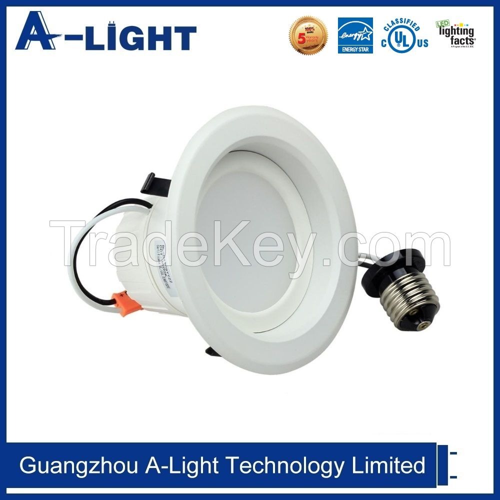 UL cUL Energy Star 4'' 6'' Led Dimmable Recessed Down Light
