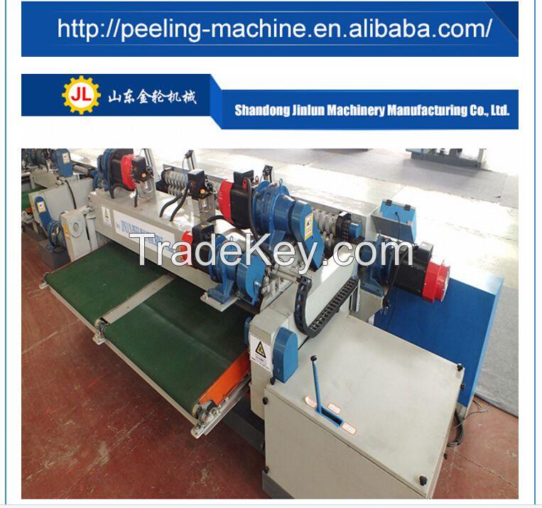2.6m wood lathe 8' veneer peeling machine