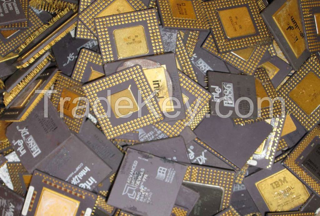 cpu ceramic gold scraps