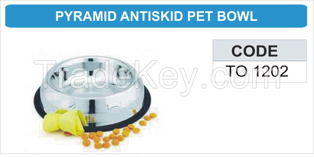 Stainless Steel Pet-ware