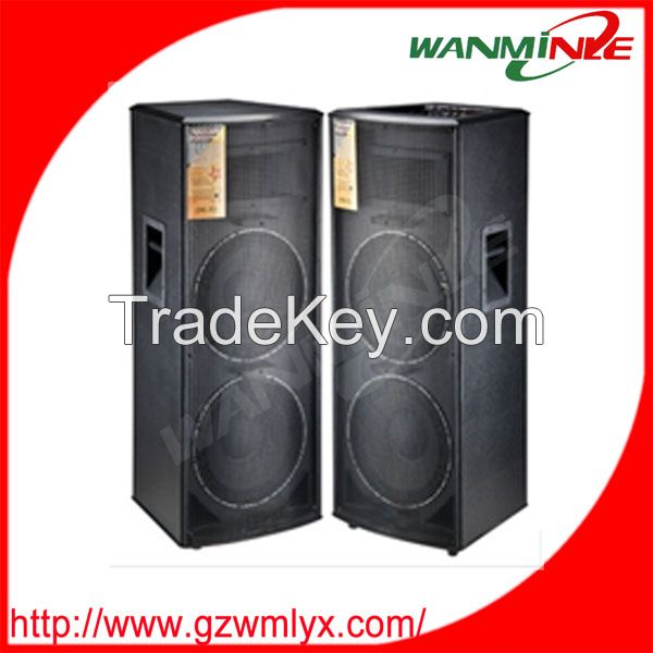 High quality Dual 15 inch subwoofer power stage speaker wholesale impo