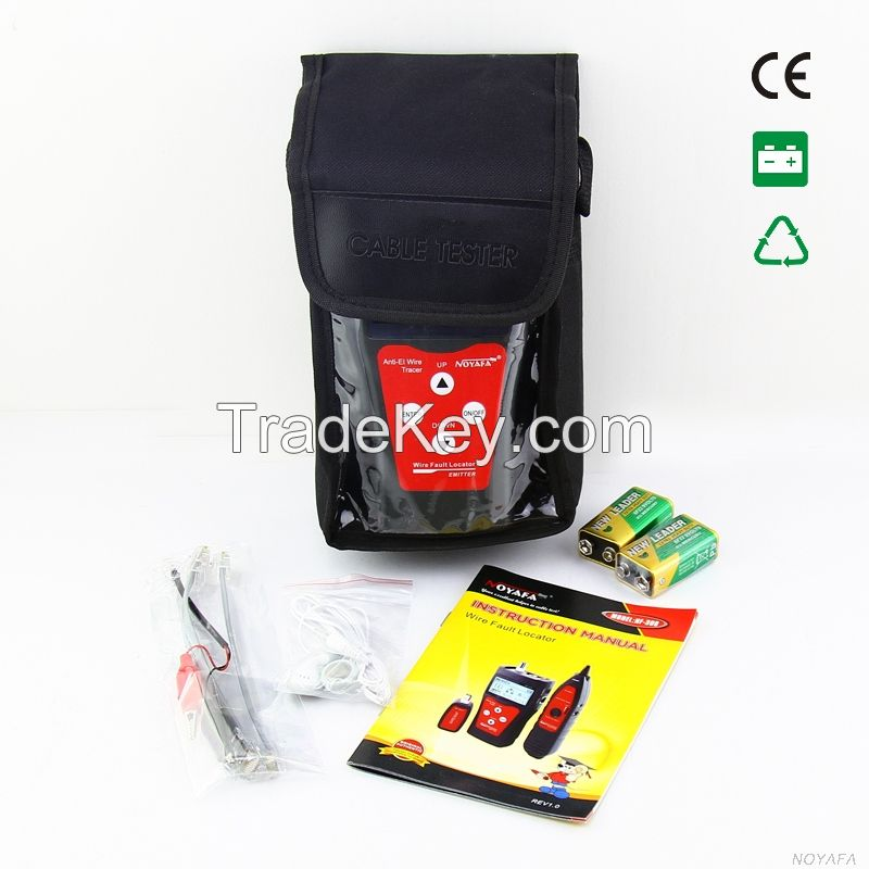 Cable Tester Find Where is RJ45,RJ11,Coaxial,USB Cable is Cut off Test Cable Length Model NF-300