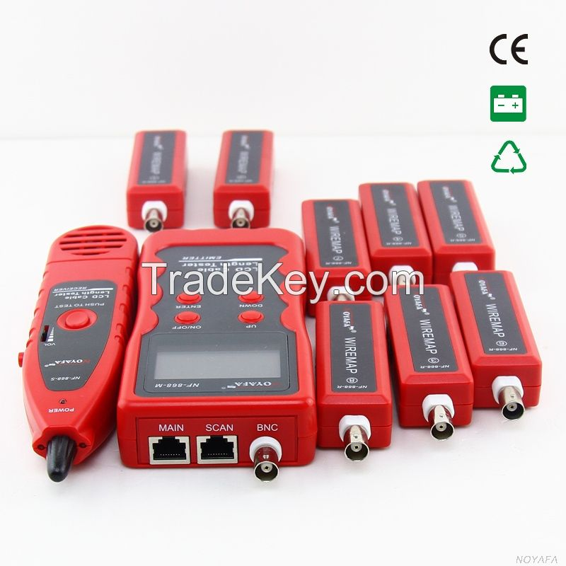 LCD Where is RJ45,RJ11,Coaxial,USB Cable is Cut off Test Cable by Name