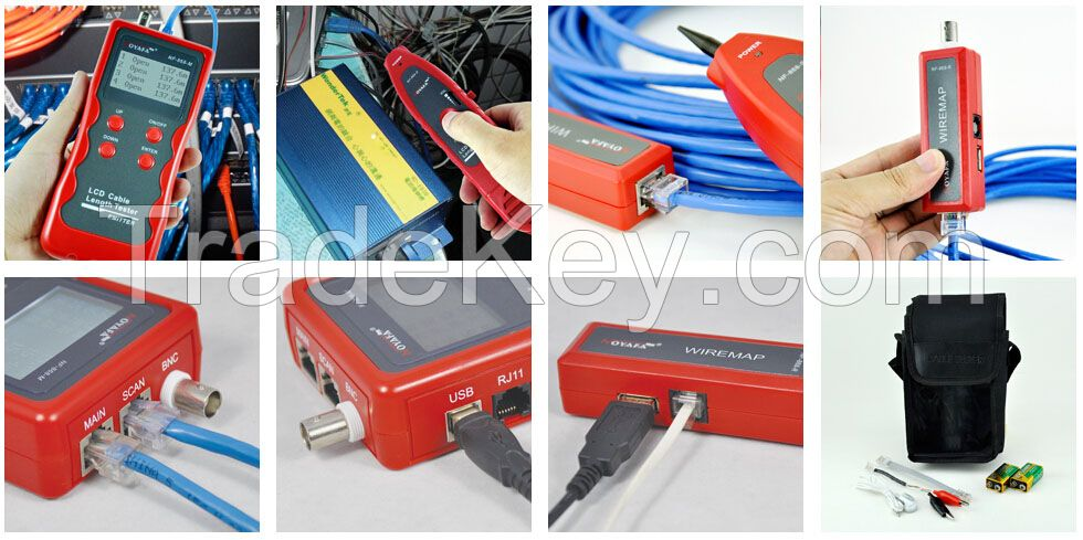 Tone Generator Find Where is RJ45,RJ11,Coaxial,USB Cable is Cut off