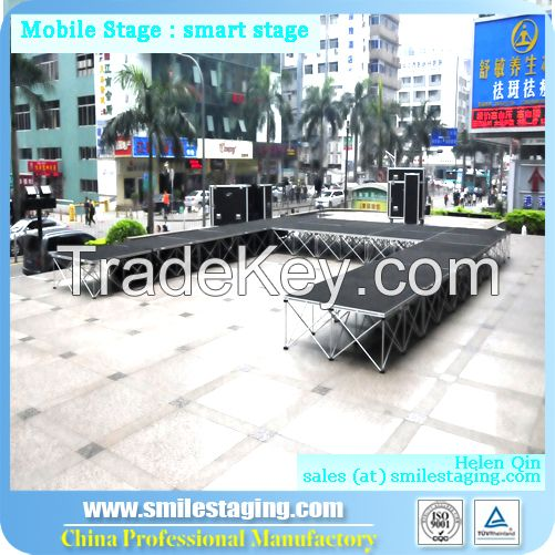 Intelligent stage mobile stage wooden platform stage