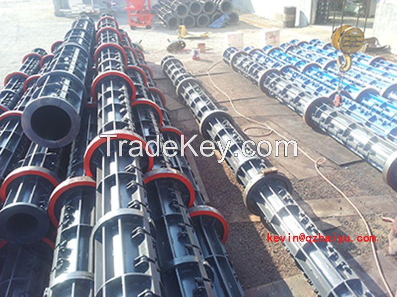 High Productivity pre-stressed concrete spun pole machine for Kenyan
