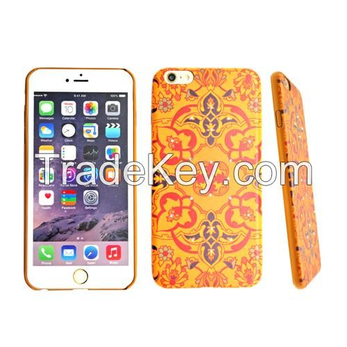 PU printing phone case for iphone