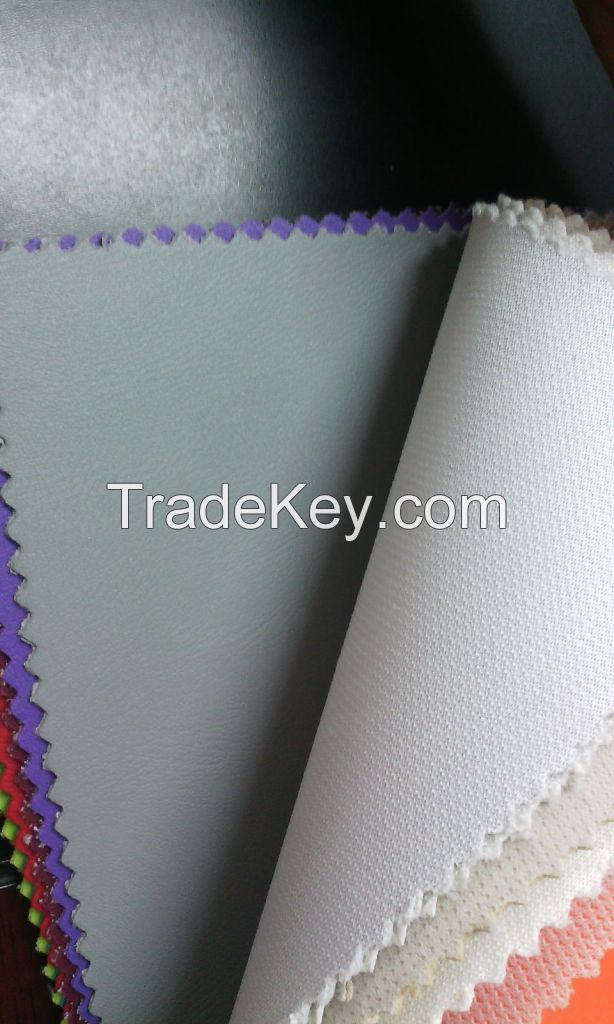 wholesale factory price PVC synthetic leather for bags, shoes making
