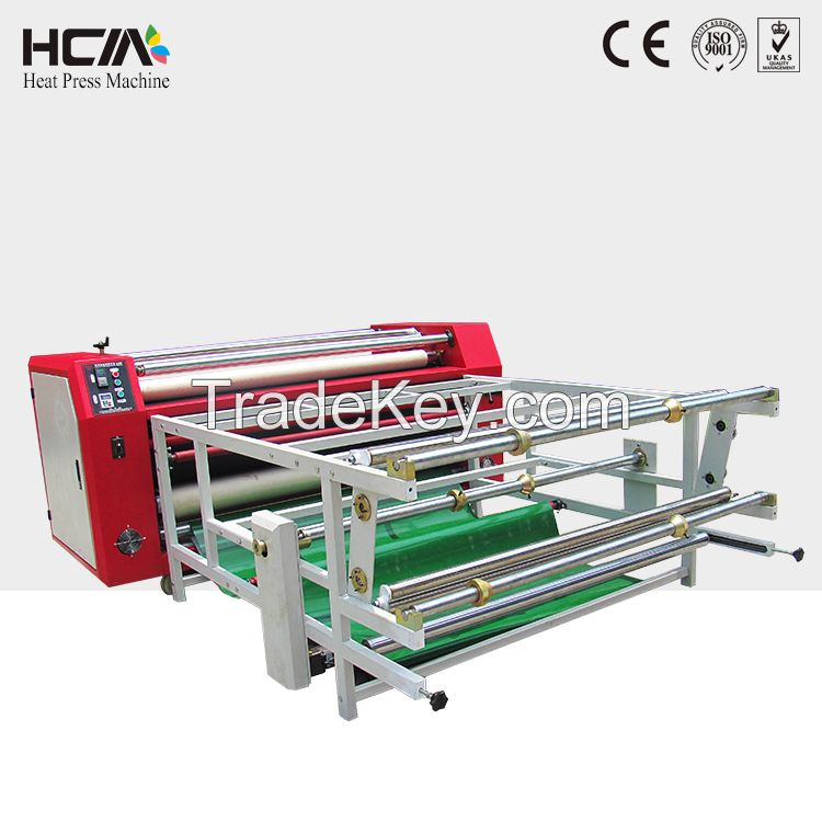 Automatic oil heating roller heat transfer machine
