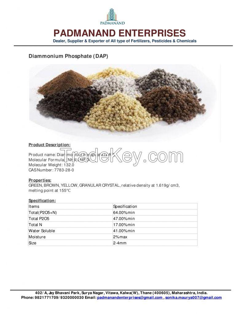 Urea, DAP, MAP, NPK compound fertilizer and NPK water soluble