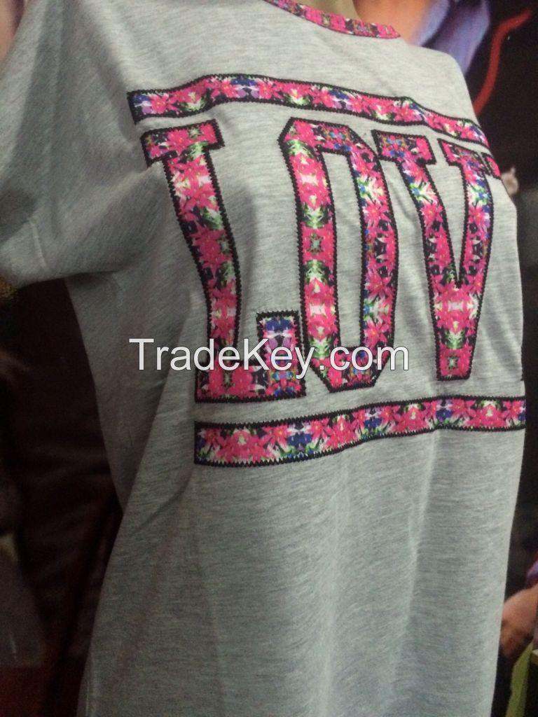 Women T-shirt stock