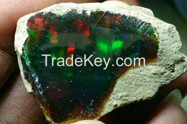 Ethiopian wollo opal