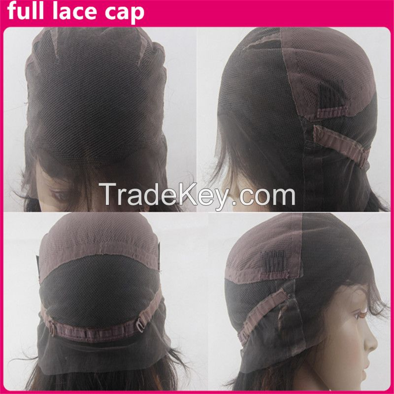 Brazilian virgin hair Ombre Human Hair Wigs Lace Front Wig/Full Lace Wig With Middle Part Two Tone Color Lace wigs