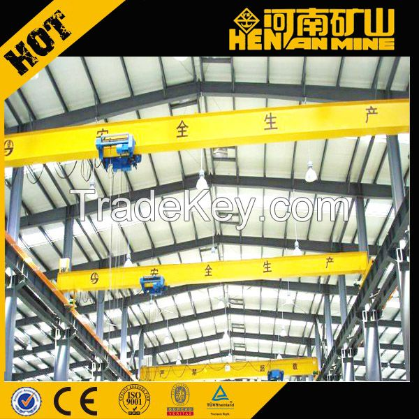 Single Beam European Bridge Crane (Overhead Crane, EOT Crane)