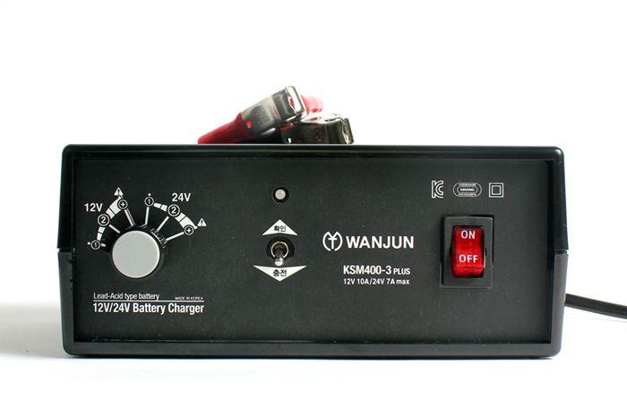 12V/24V Lead-Acid Battery Charger