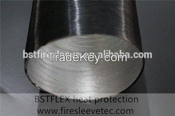 Aluminum Foil Coated Fiberglass Corrugated Tube