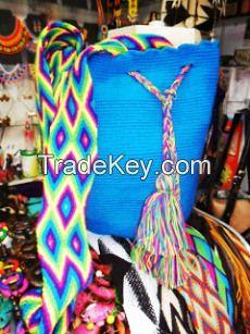 Shoulder Bags-Mochilas Wayuu