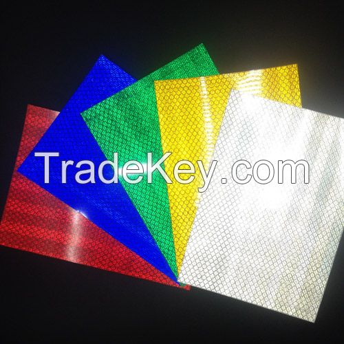 High Intensity Prismatic Reflective Sheeting For Road Safety