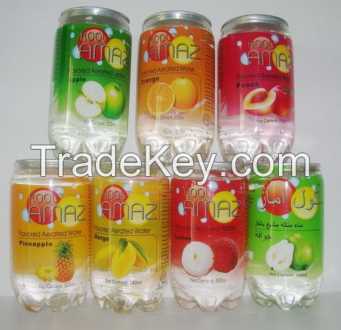Fruit Flavored Carbonated Drinks