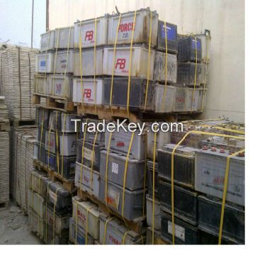 High grade Car battery Drained lead battery scrap for sale