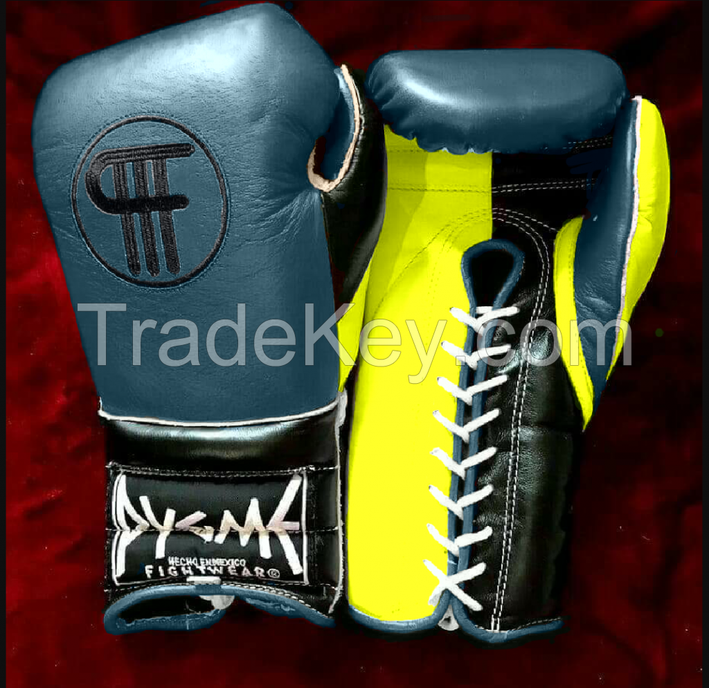 Boxing Gloves Leather Mexican Pygme Fightwear