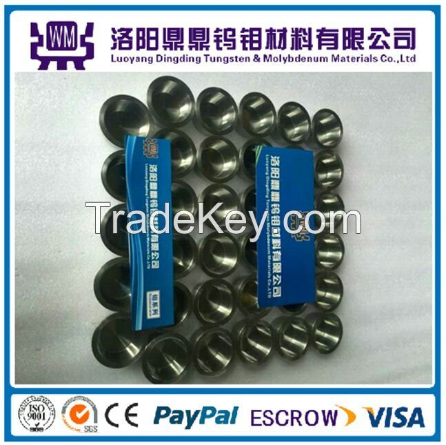 High Quality Tungsten Crucible for Melting Gold, Steel, Glass