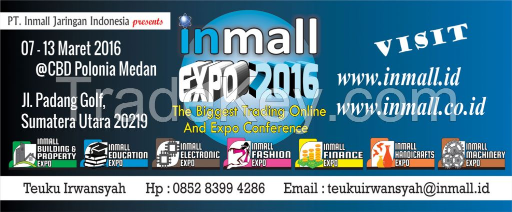 Inmall Expo (The First and The Biggest Retail Trading Expo in Medan)