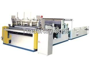 Automatic Toilet Paper Roll Slitting Rewinder with Stable Quality and
