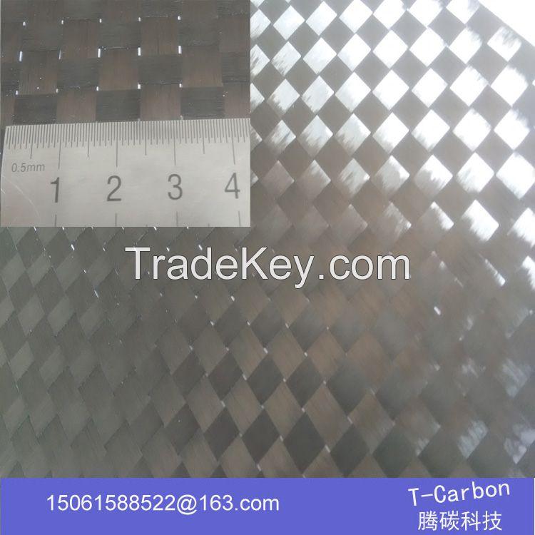 carbon spread tow fabric, 12K spread tow carbon fiber cloth