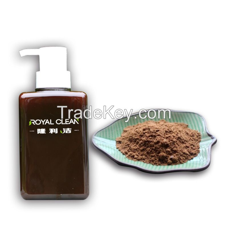ROYAL CLEAN Tea Seed Powder Hand Sanitizer Removal of Industrial heavy oil