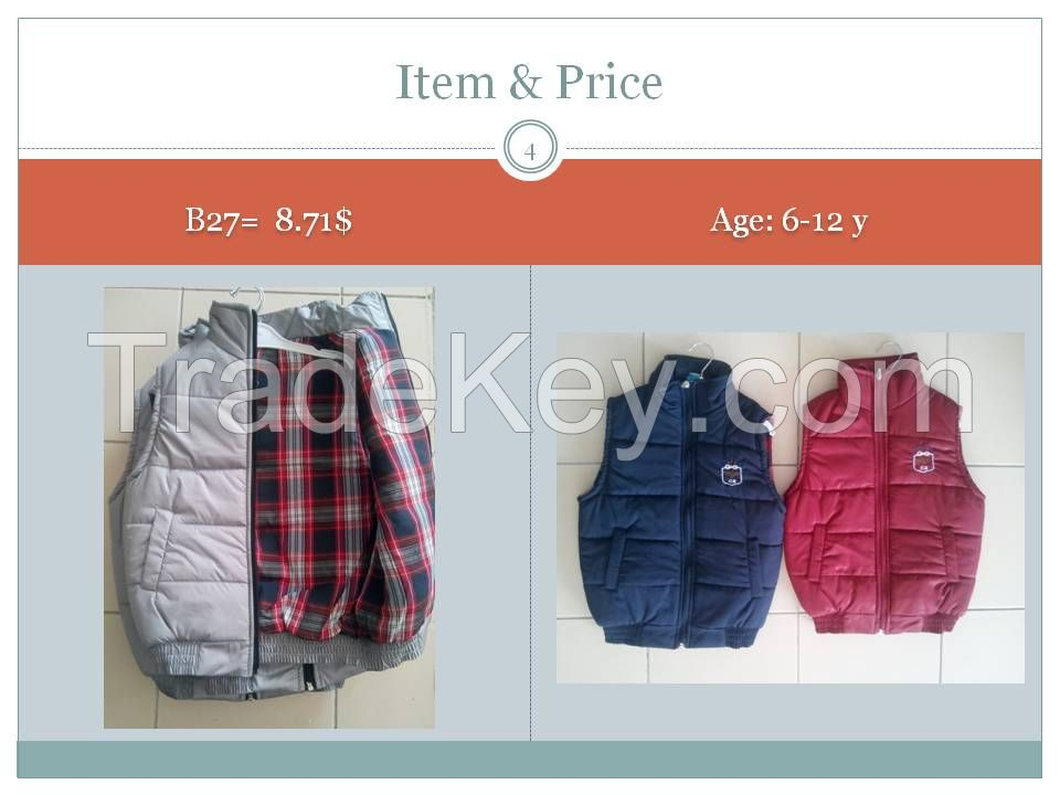 baby garments  0 age till 12 years