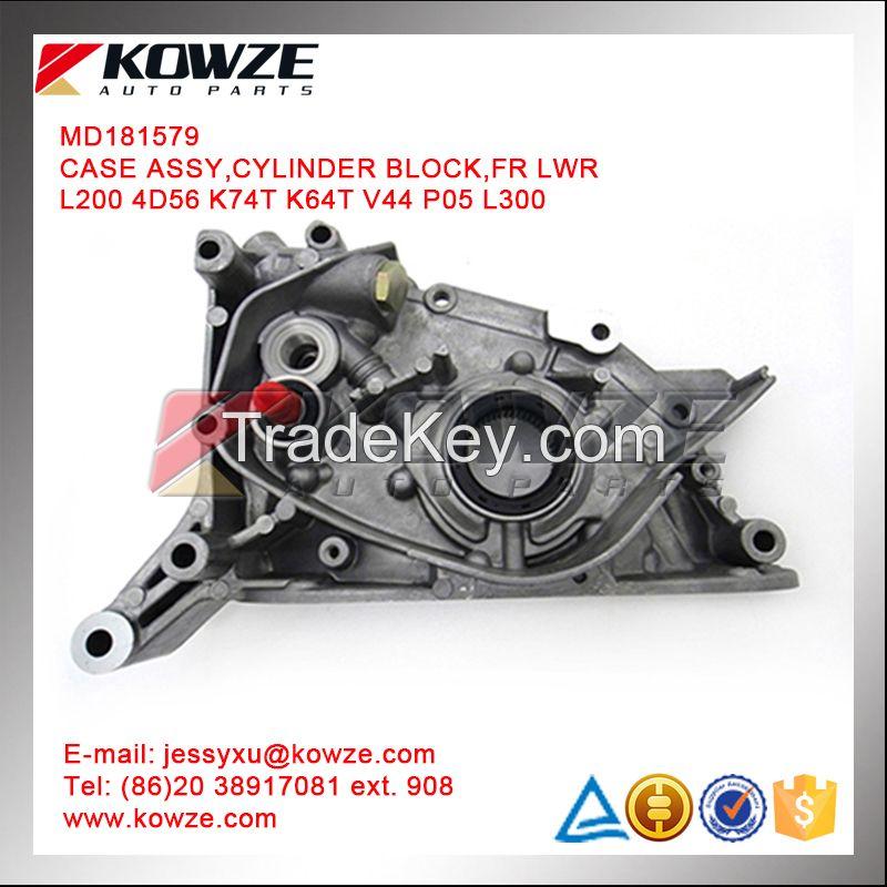 Cylinder Block/Oil Pump For Mitsubishi Pajero Montero L200 K74T 4D56