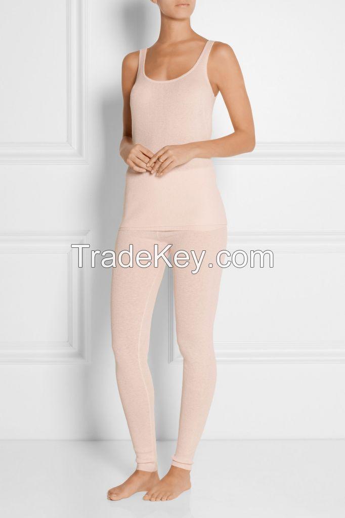 Women 100% cashmere loung pant