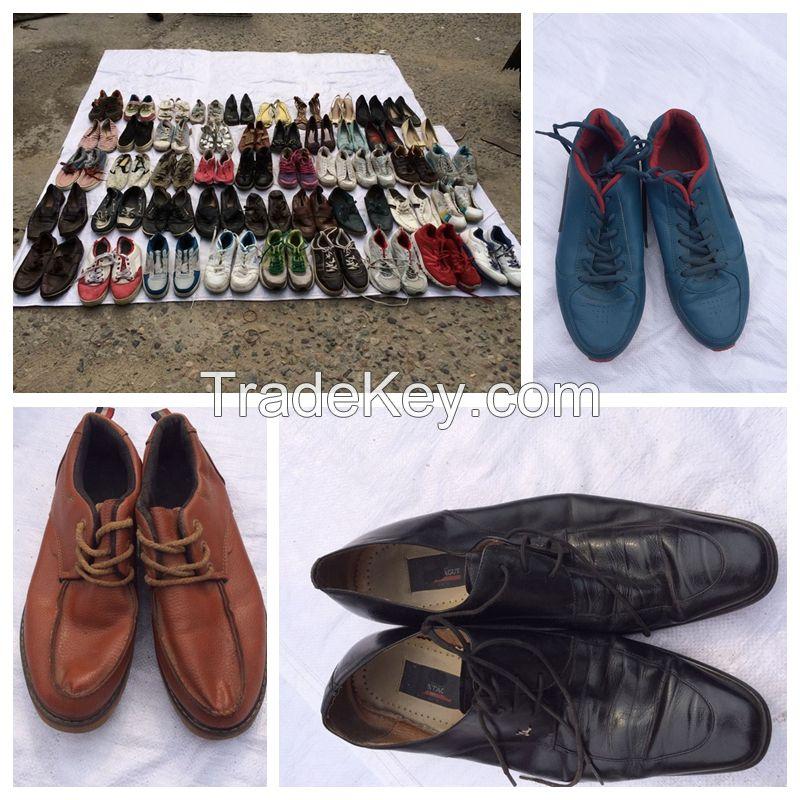 Bulk wholesale used shoes