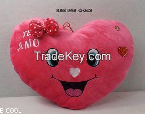 Soft Heart Cushion