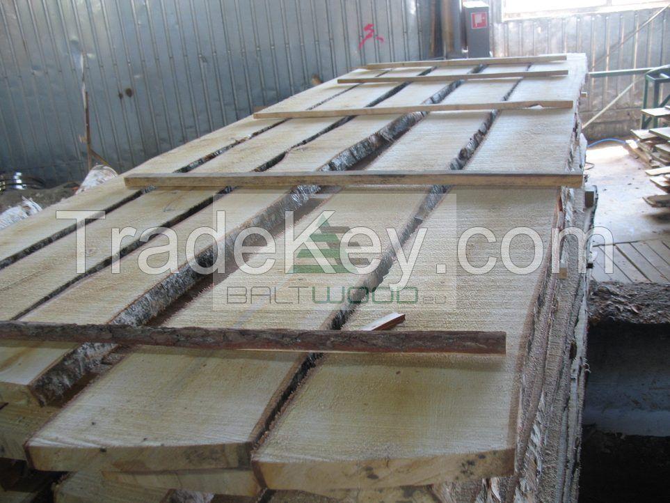 The Best Unedged Kiln Dried Birch Timber