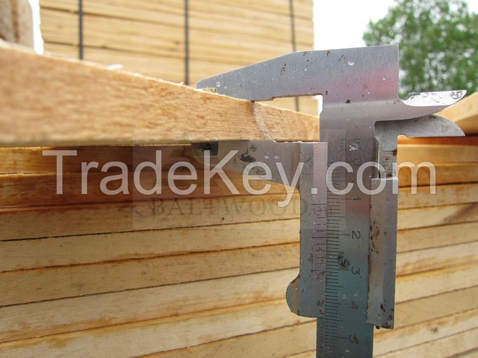 Edged Sawn Birch Lumber
