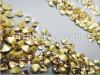 Crystal yellow v-bottom rhinestone