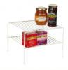 2 tier pantry shelf, c...