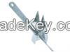 Danforth anchor 2KG (4...