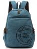 wholesale retro canvas computer backpack