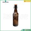 500ml amber glass wine bottle with swing cap