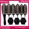 Popular detacheable head removable handle hair brush set
