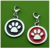 Circular dog tag