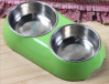Pet Bowl Double Dog Bo...