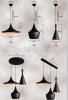 Retro Loft Style Black Aluminum Chandeliers Ceiling Light Fixture