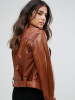 Barney's Originals Belted Leather Jacket