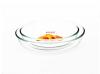Oval glass baking dish